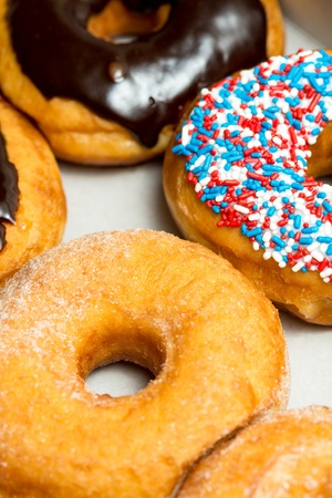 phillip rubino: Different types of donuts