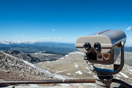 philliprubino: A telescope with a view of the rocky mountains