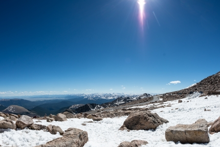 phillip rubino: Sunny vista of Rocky Mountains