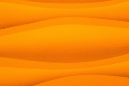 phillip rubino: Orange background with smooth curving lines in horizontal