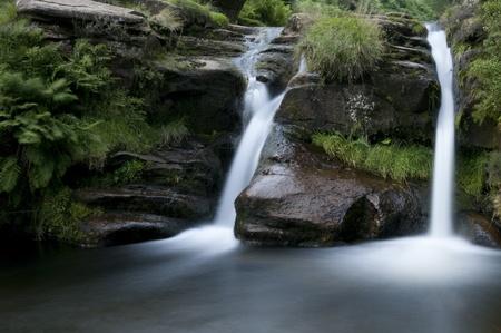 Three Shires Head in Peak District. England photo