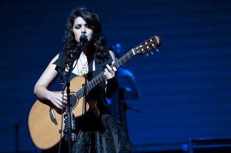 Katie Melua at Birmingham Symphony Hall in Birmingham on 27 April 2011  Stock Photo - 10404977