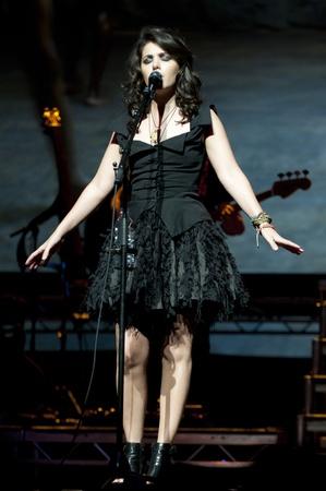 Katie Melua at Birmingham Symphony Hall in Birmingham on 27 April 2011  Stock Photo - 10404979