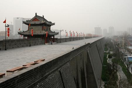guard house: Xian Wall with guard house