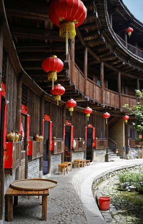Tulou Building of Yongding, China Editorial