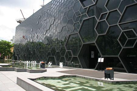 Shenzhen, China - June 29, 2010 - The  OCT Art & Design Galleryloctaed at Nanshan Editorial