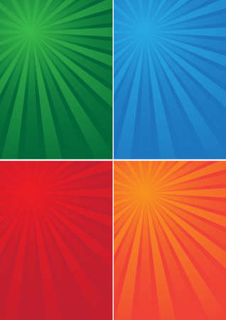 background-colored beams Vector