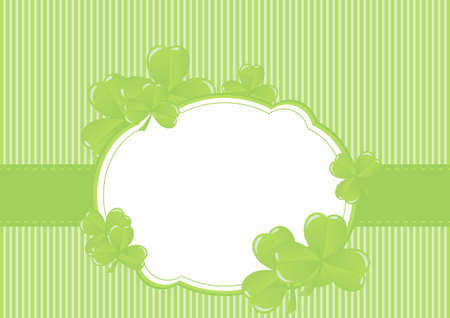 Greeting Cards St Patrick Day vector illustration Stock Vector - 12182637