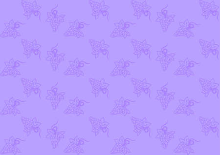 Seamless pattern with grapes on purple background Stock Vector - 16215662