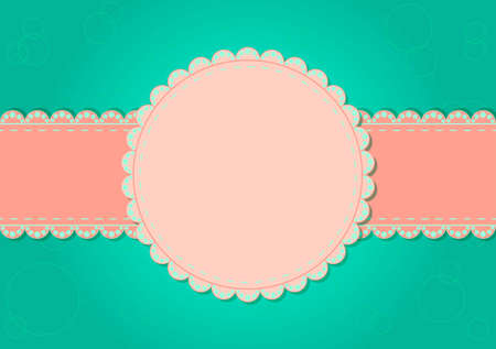 Greeting card with place for text on the various holidays Vector