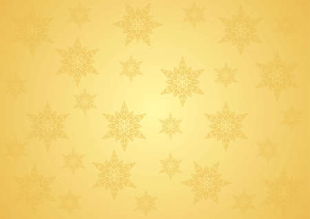 seamless gold pattern for Christmas and New Year Vector