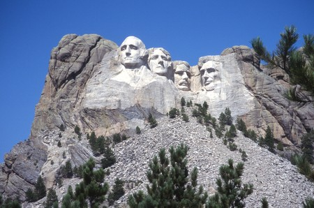Presidents on Mt. Rushmore