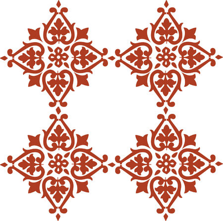 islamic pattern: Floral background