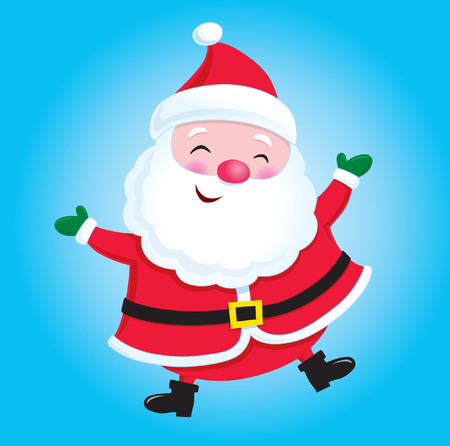 st nick: Happy Santa Claus Illustration