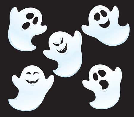 Five Assorted ghosts