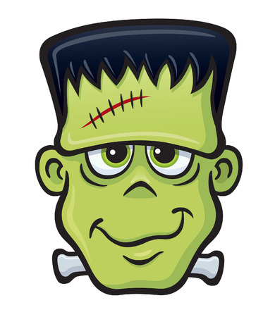frankenstein: Smiling Frankenstein Monster Face