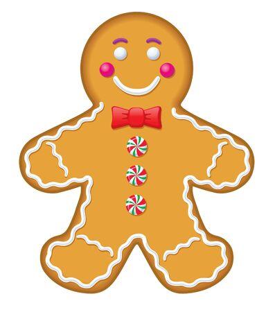 アイス ジンジャーブレッド人のクッキー