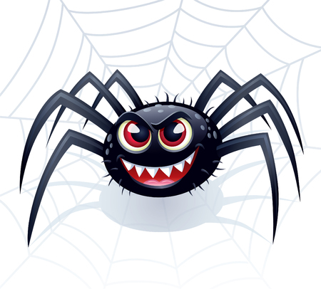wicked: Wicked Spider with Web