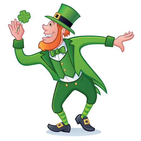 St. Patricks Day Character Illustration