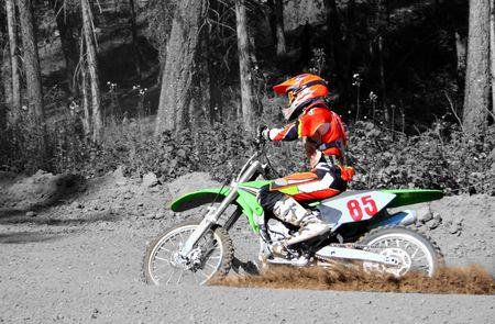 a dirtbike rider photo