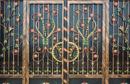 decoration of gate photo