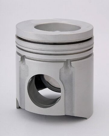 round rods: Close up shot of a piston