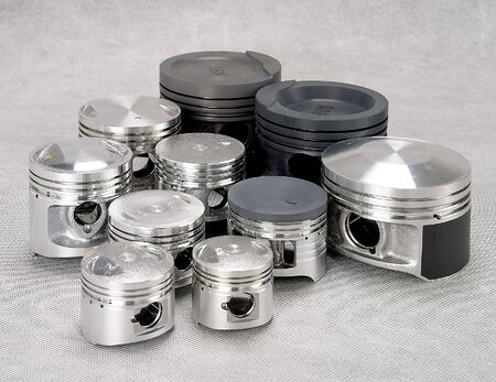 Estudio tiro de piezas metálicas