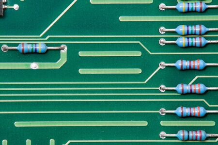 Circuit Board with dust before repairing Stock Photo - 7323715