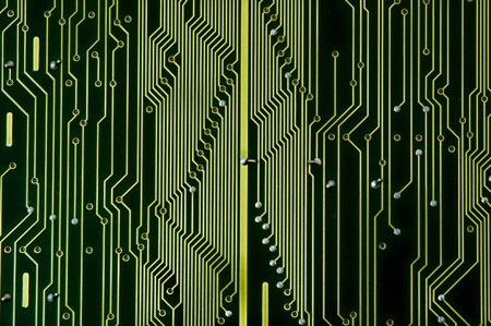 Circuit Board with dust before repairing photo