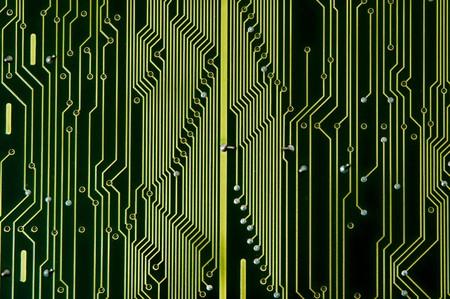 capacitance: Circuit Board with dust before repairing