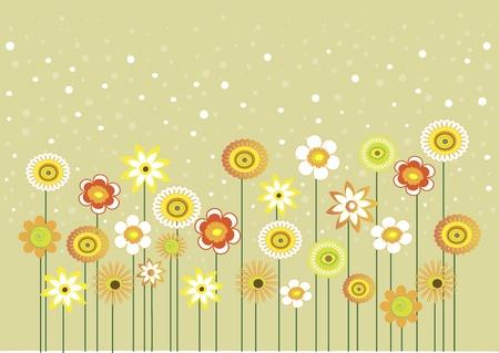 Voici quelques fleurs avec des bulles, peut �tre utilis� comme carte de voeux