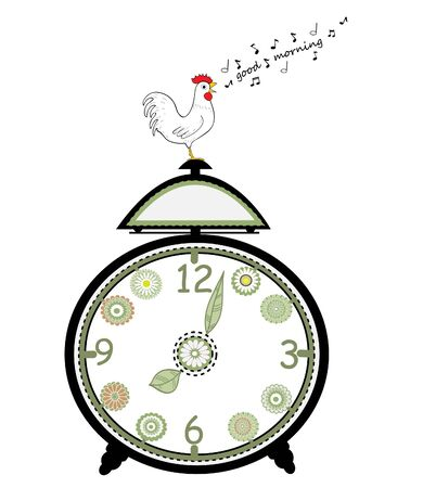early morning: Musical clock