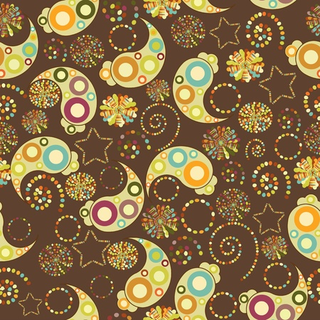 seamless colourful pattern