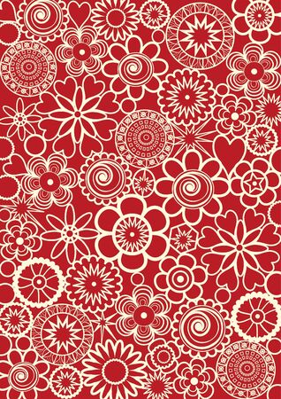 Abstract decorative pattern Illustration