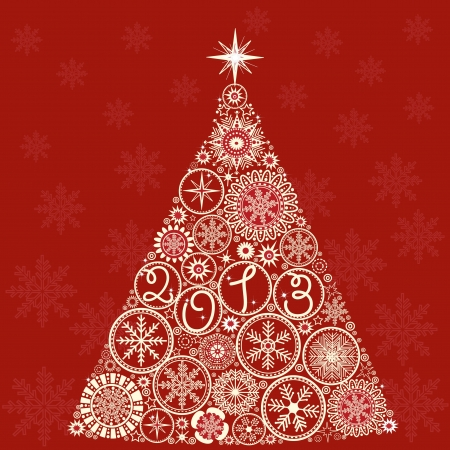 Christmas tree Stock Vector - 16159415