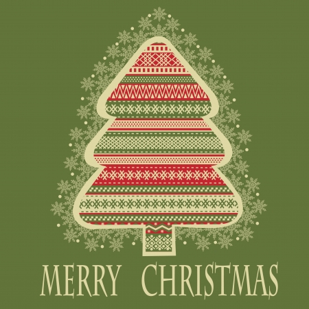 Christmas tree Stock Vector - 16291892