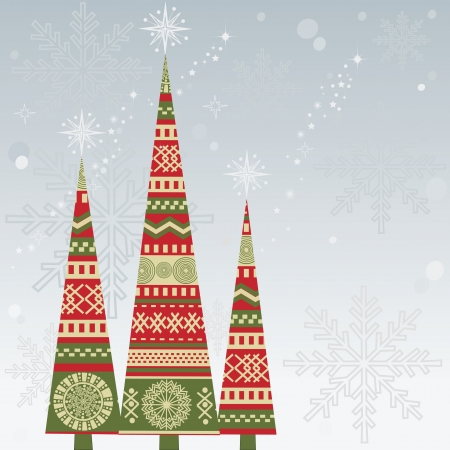 christmas motif: Christmas tree