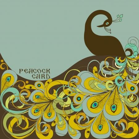 Peacock Stock Vector - 16520792