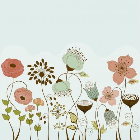 Flowers Ilustrace