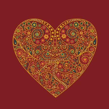 Valentine heart Stock Vector - 17415715