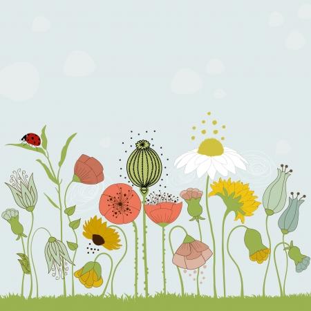 Flowers Stock Illustratie