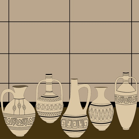 Pitchers  Vector