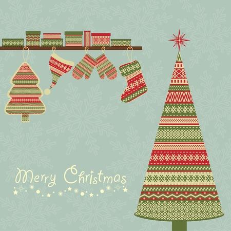 christmas motif: Christmas  background Illustration