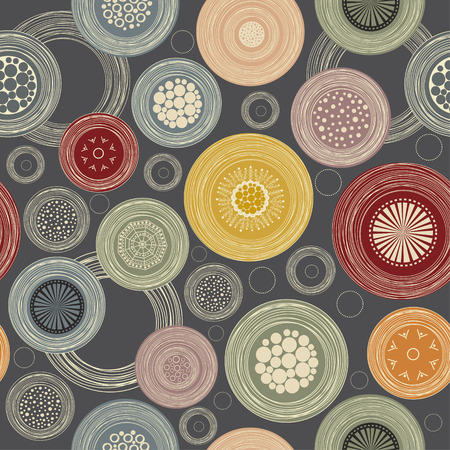 Seamless colorful abstract pattern Vector