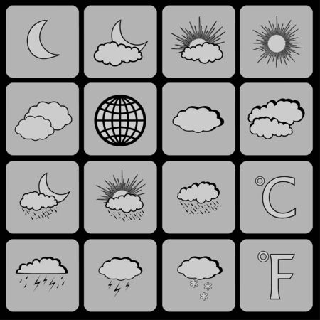 nebulous: Weather icon set