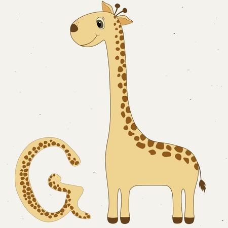 g giraffe: G for Giraffe