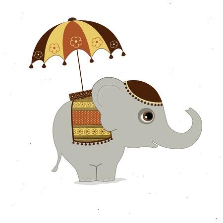 indian elephant: