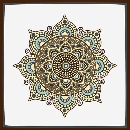 ornamental: Stylized ornamental decoration