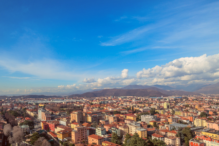 Panoramic views of Brescia citadel, Italy. Archivio Fotografico