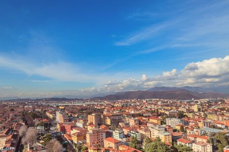 Aereal view of Brescia, Lombardy. Archivio Fotografico
